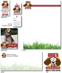 Odies branding package